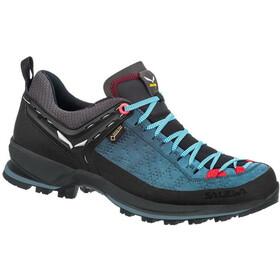 SALEWA MTN Trainer 2 GTX Shoes Dame dark denim/fluo coral